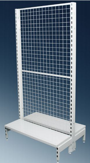 Narrow Double Sided Mesh Back 900mm Modules