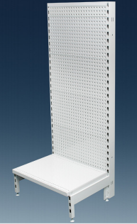 Volcano Pegboard Single Sided 600mm Gondola Units