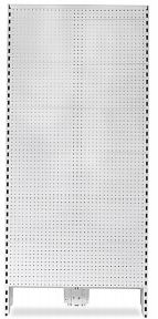 Volcano Metal Pegboard End Feature Bay