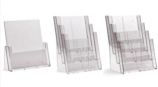 1 Piece A4 Brochure Holders