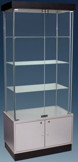 Semi Frameless Upright Cabinets with Storage