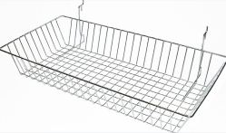 Slat Panel Wire Basket