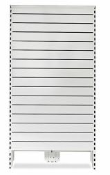 Metal Slat Panel End Feature Bay