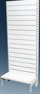 Narrow Single Sided Slat Panel 600mm Modules