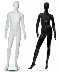 Abstract Faceless Mannequins1