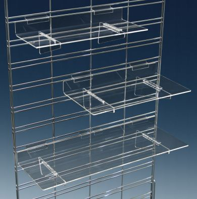 Heavy Duty Flat Acrylic Shelves