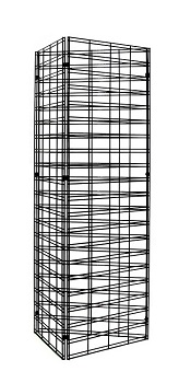 3 Way Grid Mesh Stand