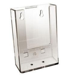 1/3 A4 Slat Panel Acrylic Brochure Holders