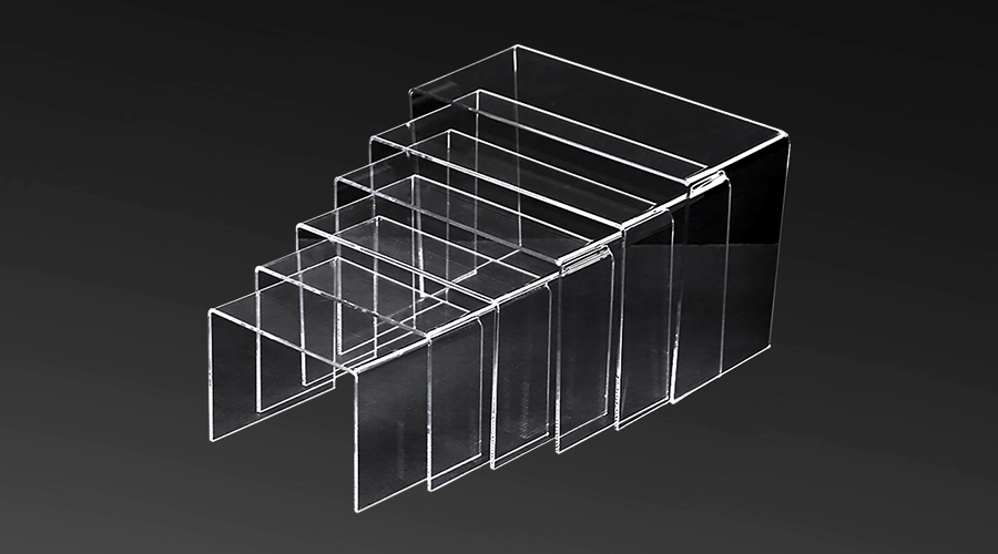 Acrylic Stepped Risers – set (6)