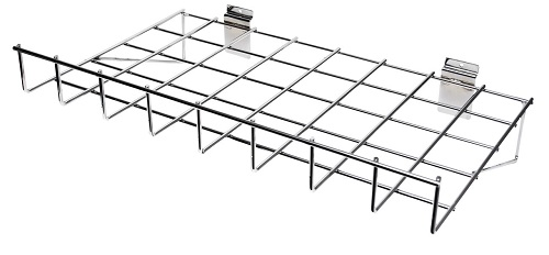 Grid Mesh Wire Shelves