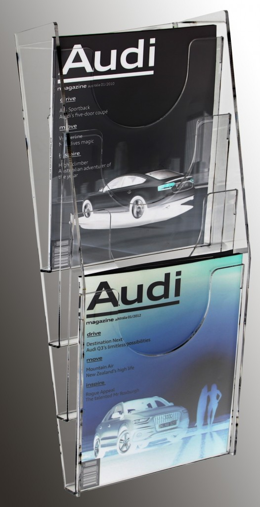 A4 Multi Tier Brochure Holders