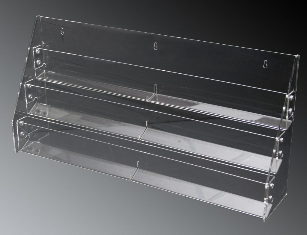 3 Tier Acrylic Rack