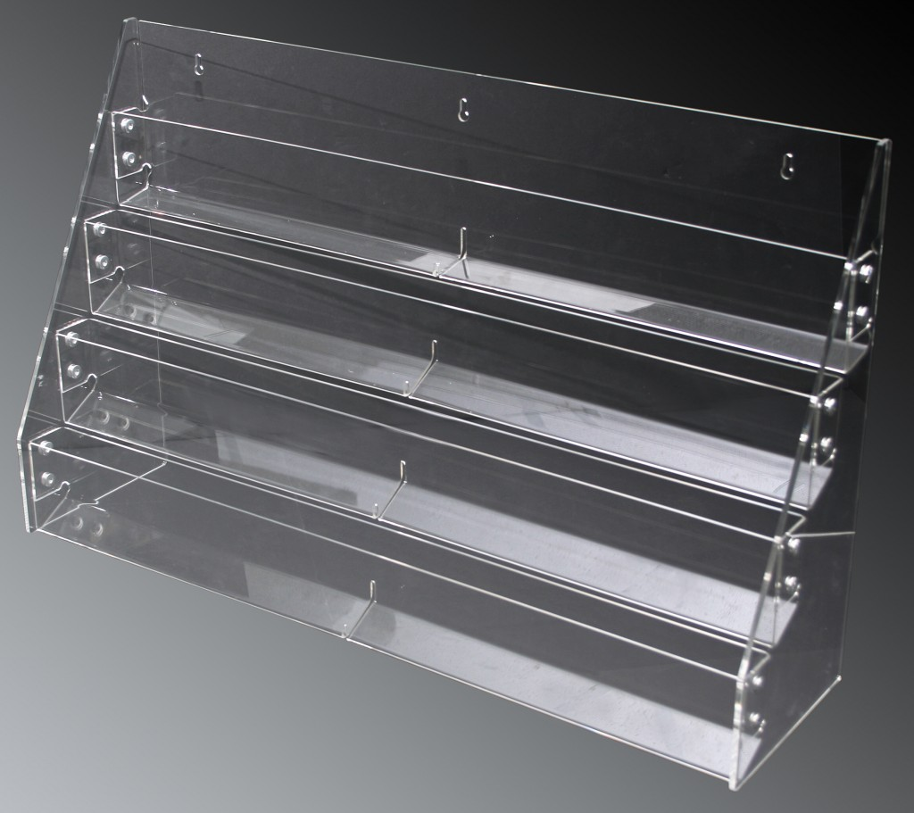 4 Tier Acrylic Rack