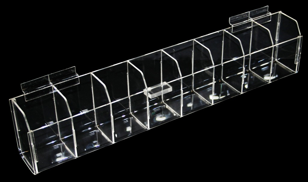 8 Compartment Bins – Vertical