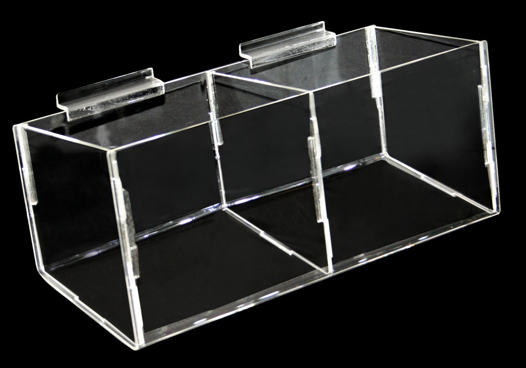 2 Compartment Bins