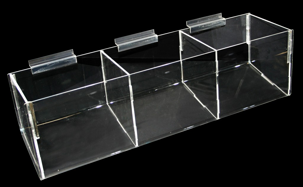 3 Compartment Bins