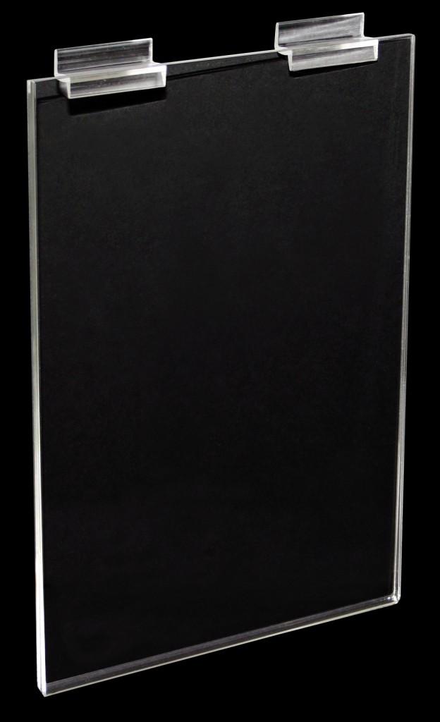A4 Slat Panel Info Holder