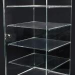 Acrylic five shelf unit