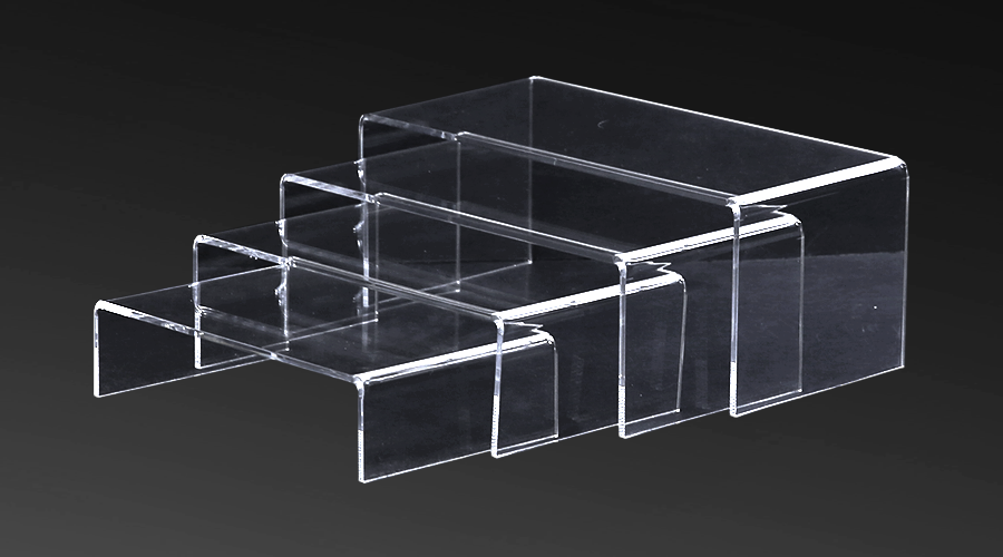 Acrylic Stepped Risers – set (4)