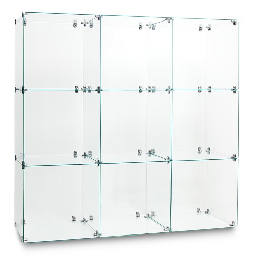 Display Glass Cubes