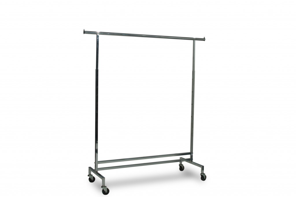 Heavy Duty Straight Clothing Rack