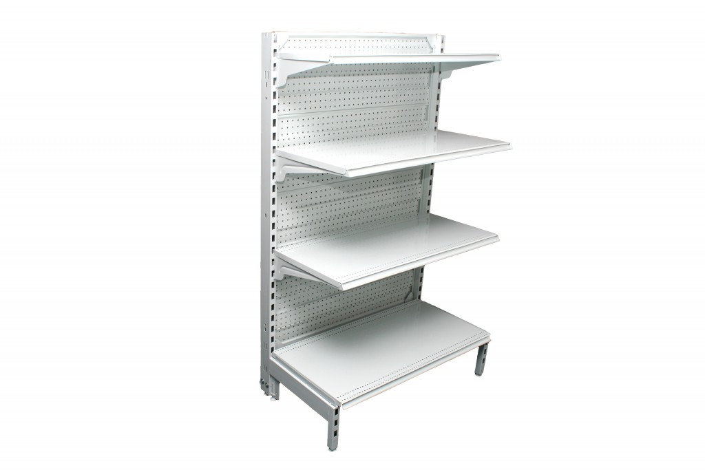 Dual Flat Pegboard Single Sided 1200mm Bays