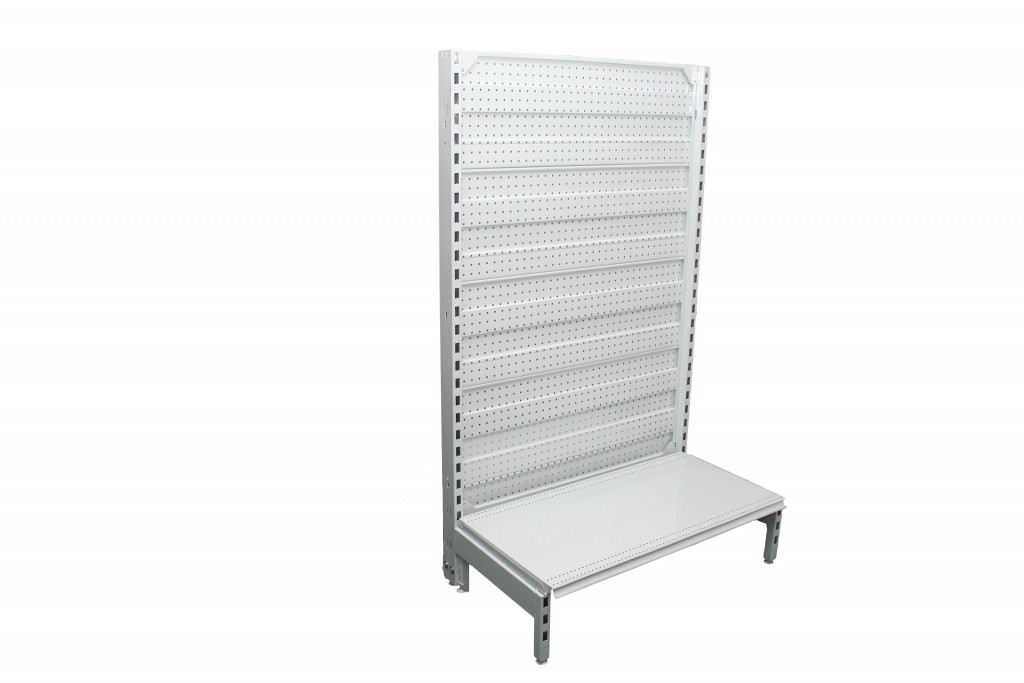Dual Flat Pegboard Single Sided 900mm Bays