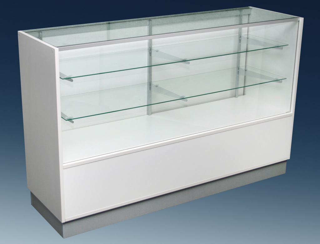 Display Counter Cabinet With Storage