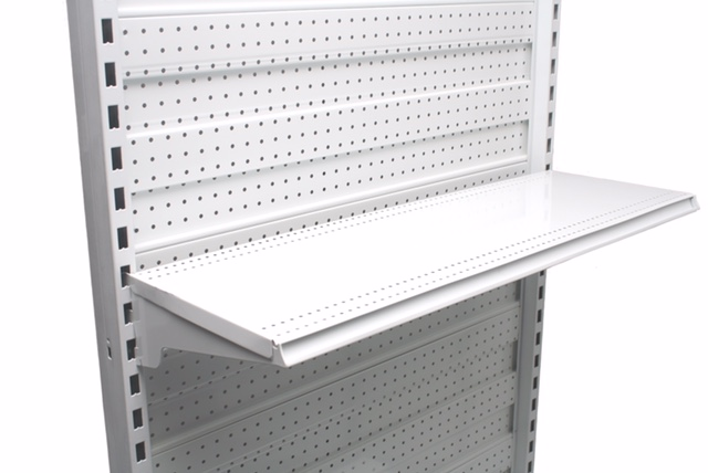 300mm Shelf With Inbuilt Data Strip Holder