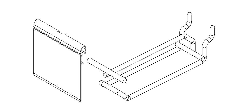 Loop Flipper Scan Pegboard Slat Panel Hooks
